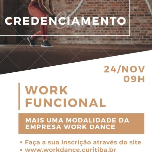 Workshop de Credenciamento Work Funcional 24/11