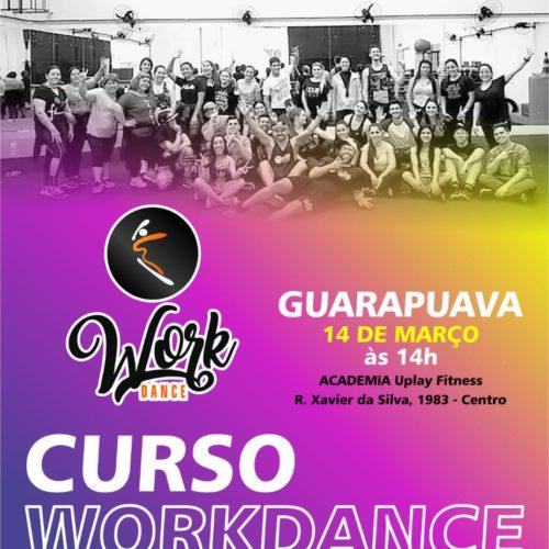 Curso Work Dance Guarapuava 14/03